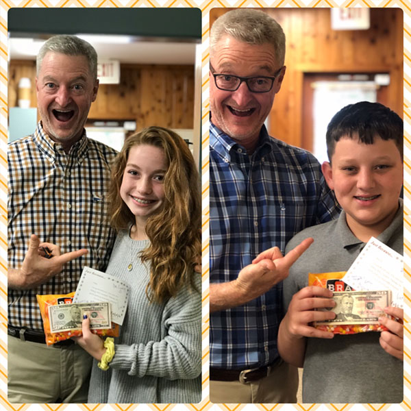 Candy Corn Contest Winners